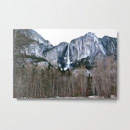 HDR Yosemite Falls Metal Print