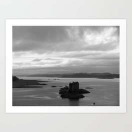 Floating Castle Art Print
