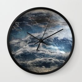 The Storm Shall Pass Wall Clock