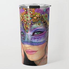 The Mascherari's Muse Travel Mug