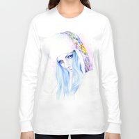 russian Long Sleeve T-shirts featuring Russian winter by Cora-Tiana