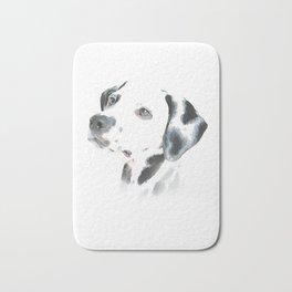 Cute Dalmatian Puppy Bath Mat