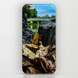 Leave Me Be - Central Park, NYC iPhone Skin