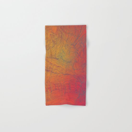 Auric Waves Hand & Bath Towel