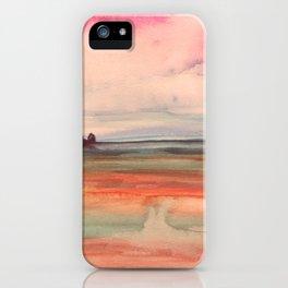 Melancholic Landscape iPhone Case