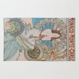 Vintage poster - Monte Carlo Rug
