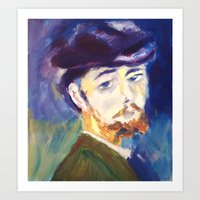 monet Art Prints featuring Monet by AnthonyG