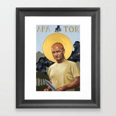 Saints of LOST - John Locke Framed Art Print