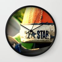 converse Wall Clocks featuring Converse by americansummers