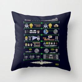 A Knit Hope Throw Pillow