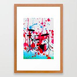 Bang the Drums Framed Art Print