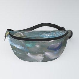 Ocean Hue Sea Glass Assortment Fanny Pack