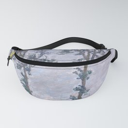 Wind Effect, Series of The Poplars Fanny Pack