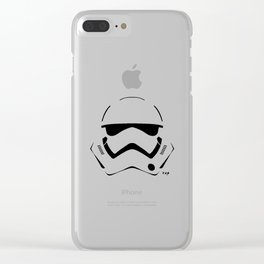 NEW STORMTROOPER HELMET Clear iPhone Case