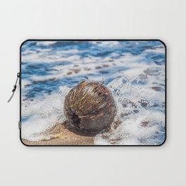Coconut in the Sea Laptop Sleeve