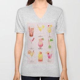 Summer Cocktails 12 Unisex V-Neck