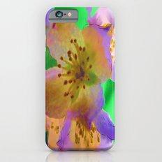 Purple Flowers - Watercolour Painting Slim Case iPhone 6s