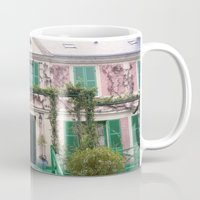 monet Mugs featuring Monet House by Rachael Nicole