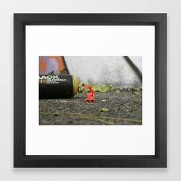 DIKKI - StreetPark series one Framed Art Print