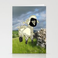 lamb Stationery Cards featuring Lamb by Knot Your World