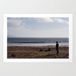 Remains of the Day Art Print