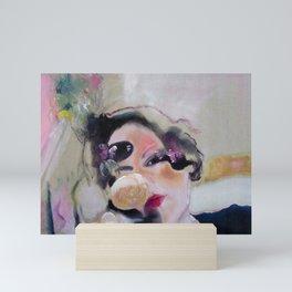 MUSE PAINTING Mini Art Print