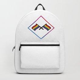 Sexuality gay LGBT flag rainbow CSD tolerant gift idea Backpack