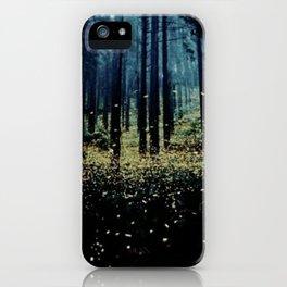 Twilight Fireflies iPhone Case