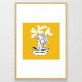 Udon Girl Framed Art Print