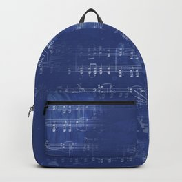 Sheet Music - Mixed Media Partiture #5 Backpack
