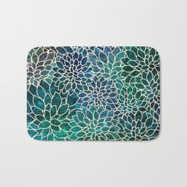 Floral Abstract 4 Bath Mat