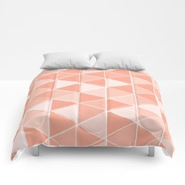 Coral Triangles Comforters