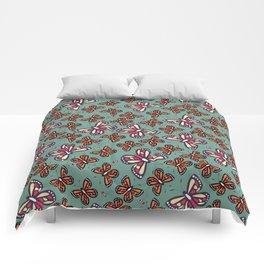 Butterflies and bees 002 Comforters