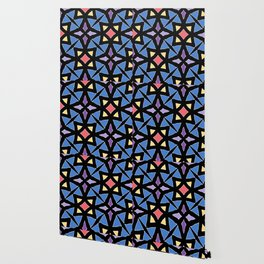 Stained Glass Color Pattern Art Wallpaper