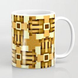 Gold Beige Pipe System,Streampunk Coffee Mug