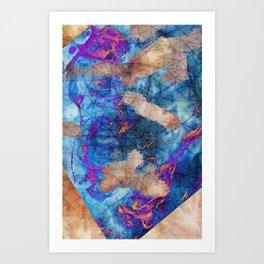 _HOLO Art Print