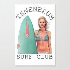 Tenenbaum Surf Club Canvas Print