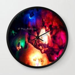 Holiday Lights 2a Sara/Devine/Clean Wall Clock