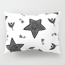 Christmas Stars Pillow Sham