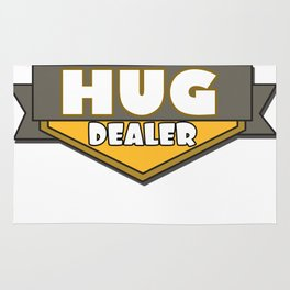 This is the best and funniest tee shirt that's perfect for you HUG DEALER Rug