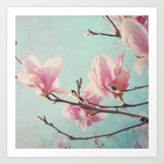 Pink Morning Art Print