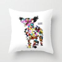 chihuahua Throw Pillows featuring Chihuahua by bri.buckley