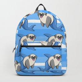 Sharky Pug Backpack