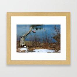 Dilapidated Framed Art Print