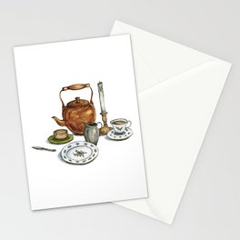 Then Her Soul Sat on Her Lips Stationery Cards