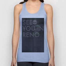 See You In Reno - Darkness Unisex Tank Top