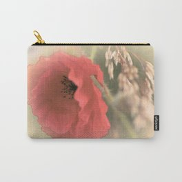 Poppies(silken). Carry-All Pouch