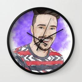 """Leave Britney Alone"" Digital, 2018. Original Digital Watercolor Painting, Chris Crocker Wall Clock"