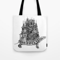 Turtle City Tote Bag