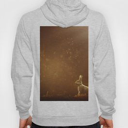Rabbit in the Sunlit Forest Hoody
